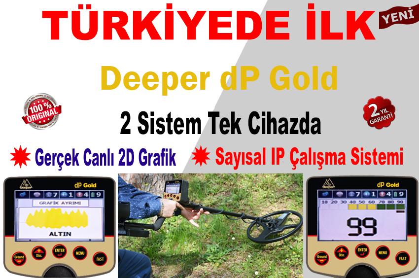 dp gold22 فلزیاب و طلایاب dP Gold باصفحه نمایش رنگی
